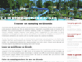 Détails : Vacances camping Gironde