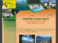 site http://www.camping-haut-salat.com