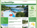 Camping Le Bontemps - camping & locations en Isère | location | tentes | mobil-homes | chalets | piscine
