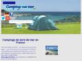 camping bord mer sur www.camping.vuesurmer.fr