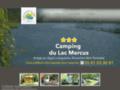 Camping du Lac à Mercus pres de Tarascon sur Ariege
