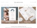 Détails : Carteland : invitations et faire-parts