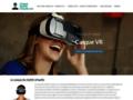 Détails : Casque de Réalité Virtuelle