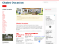 Mobil homes et chalets d'occasion