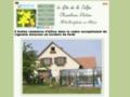 Week end romantique et gastronomique en Alsace (Bas Rhin). Chambres d'hôtes en Alsace avec piscine.