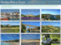 Capture du site http://www.chambres-dhotes-provence.net