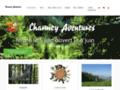 Capture du site http://www.charmeyaventures.ch