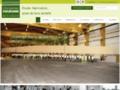 Détails : Charpente en bois lamellé-collé en France