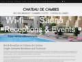 site http://www.chateau-de-cambes.com/