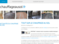 site http://www.chauffageausol.fr