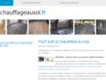 Détails : Le plombier réalise les chauffages au sol