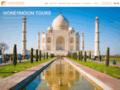 Capture du site http://www.chetak-travels.com