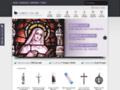 Détails : Christ-en-or enseigne religieuse de vente en ligne
