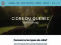 Cidre du Québec