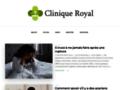 Capture du site http://www.cliniqueroyal.com
