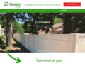 Clodéco, fourniture et pose de clôtures
