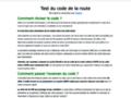 Détails : Code de la route gratuit