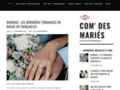 faire part remerciement sur www.comdesmaries.fr