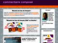 Commentaire composé et lecture analytique