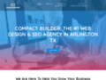 Compact Builder visual web site manager