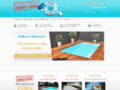 Capture du site http://www.coque-piscine-direct-usine.fr