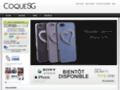 Capture du site http://coquesg.com/
