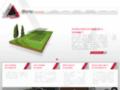Capture du site http://www.cote-projets.fr