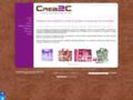Voir la fiche détaillée : Crea2c : goodies, boites cadeaux et shopping bag