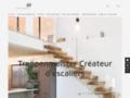 Escalier suspendu en bois, escaliers contemporains, escaliers design fabriqués par Créateur d'escaliers Treppenmeister