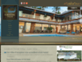 Capture du site http://www.crystal-villas-samui.fr