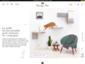 Détails : Des mobiliers de luxe pour chiens et chats | Dandy's Pet