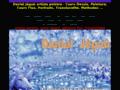 Détails : artiste peintre, Daniel Jègoû : dessin, peinture, livre, cours fluo