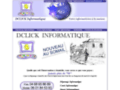 Détails : DCLICK INFORMATIQUE - Votre informaticien à la maison