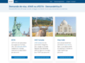 Une demande de visa simple