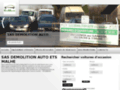 Détails : SAS démolition auto Malhé
