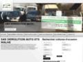 Détails : Sas démolition auto  ETS MALHE Saint jacques sur darnétal