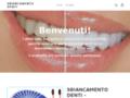 sbiancamento denti led