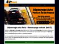 Depannage auto Paris  - Remorquage Voiture Paris