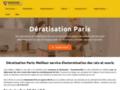 Deratisation desinsectisation désinfection Paris