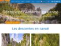 Location de canoe en Ardèche