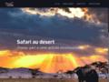 Détails : Safari au désert, un safari palpitant