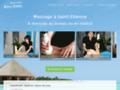 Détails : Massage de bien-être à domicile, en institut ou au bureau