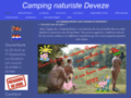 Camping Deveze  camping naturiste