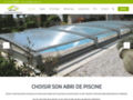 Capture du site http://www.devis-abri-de-piscine.fr/