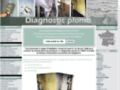 Diagnostic plomb