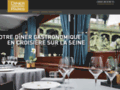diner croisiere de luxe à paris