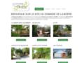 cabane arbres sur www.domainedelaboere.fr