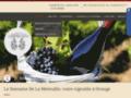 Détails : Domaine de La Mereuille, production de vins d'appellations, Orange