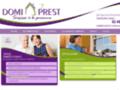 Les services à domicile que vous recherchez avec Domiprest