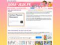 jeux dora gratuit sur www.dora-jeux.fr